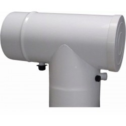 Adapter trójnik z kr.pmiarowymi 60/100x 80/125